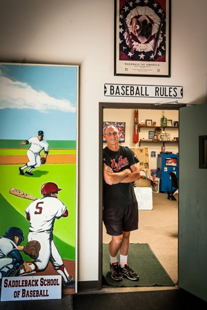 Glenn Zielinski of Saddleback School of Baseball